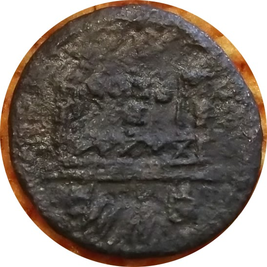 Identification Romaine  bronze POP ROMANUS ric 21  Hotel_12
