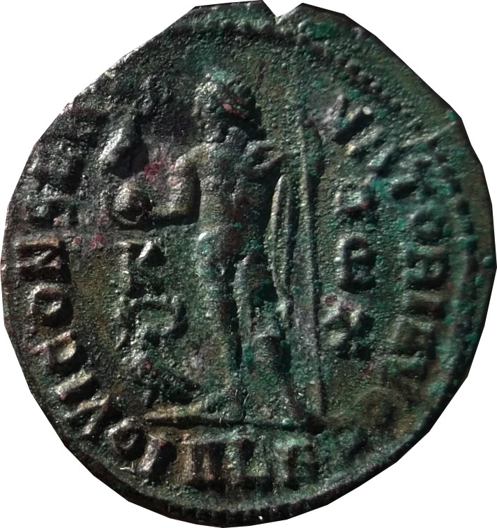 Confirmation identification Licinius 1 Alexandrie Ric 14( R1 ) Licinu12