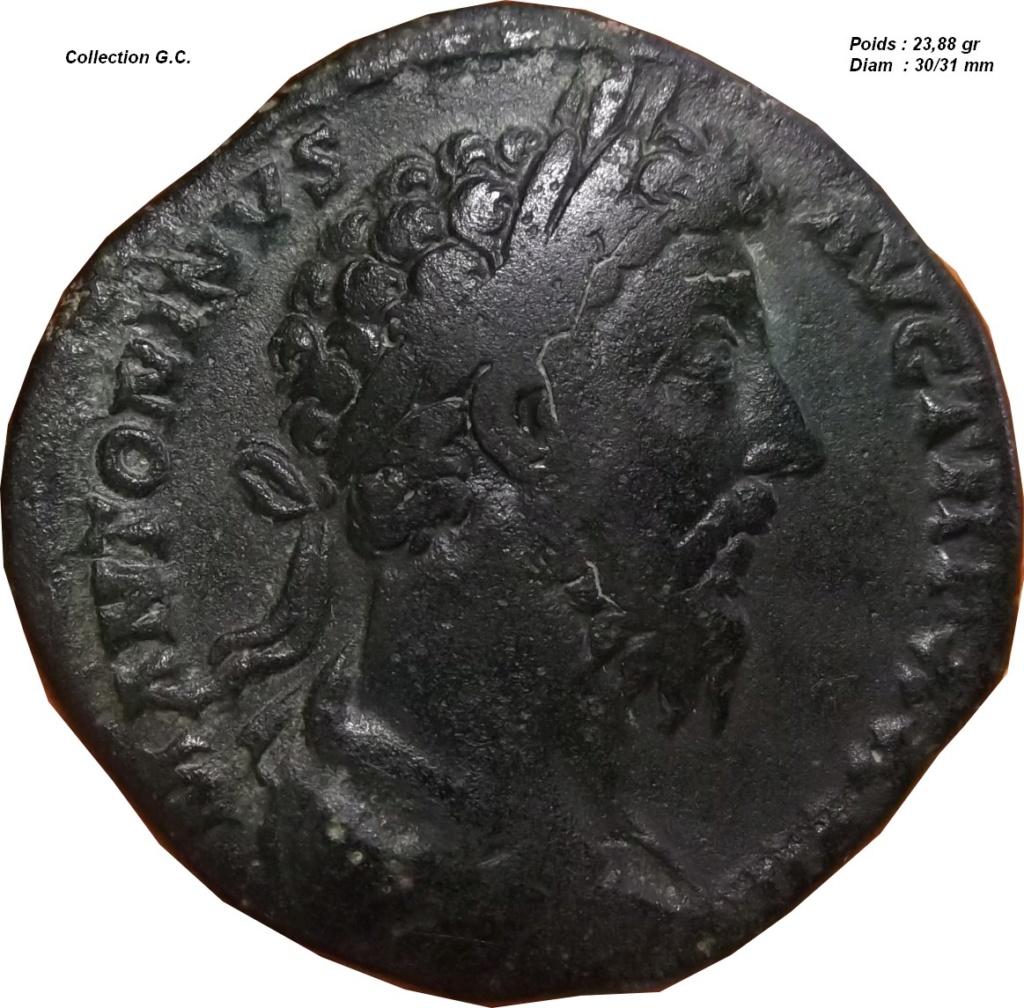 Confirmation identification (  sesterce Marc Aurèle  ric 1096 ) Marc_a10
