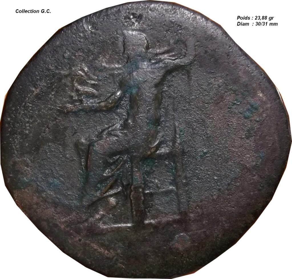 Confirmation identification (  sesterce Marc Aurèle  ric 1096 ) Marc_a11
