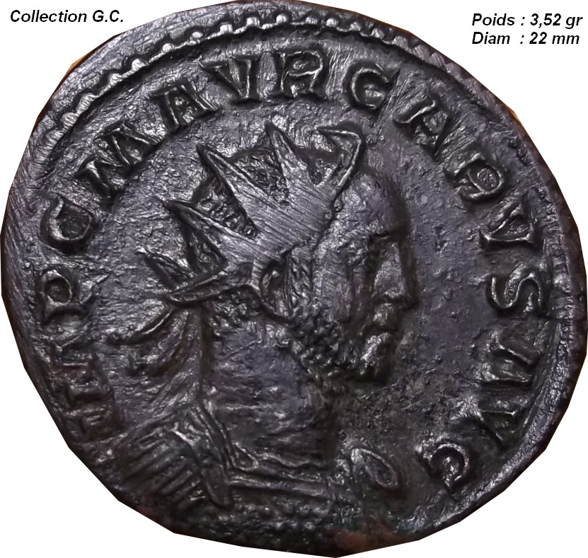 Confirmation ID ( Marcus Aurelius Carus Aurelianus ) Pax_212