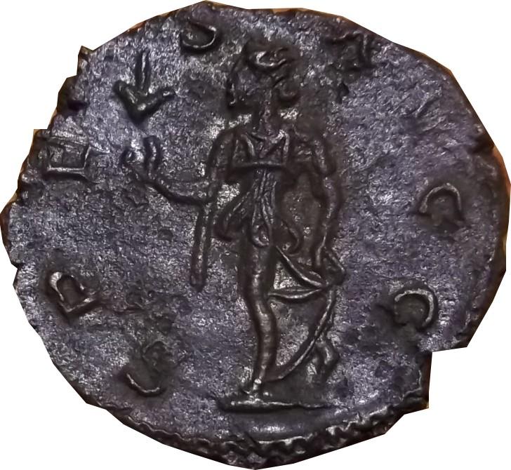 Identification Romaine Tetricus revers  SPE-S - AVGG. . ric  270 R1 Tetric11