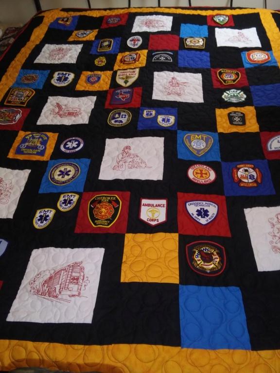 Firefighter's badge 20200310