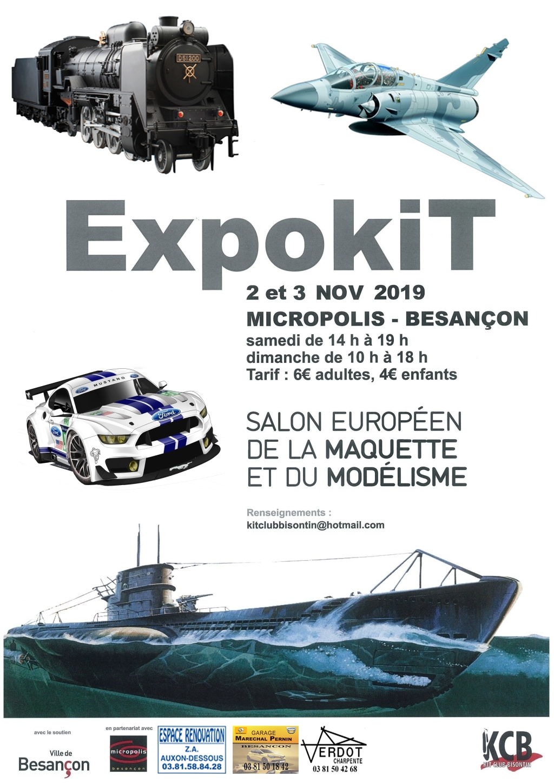 EXPOKIT Besançon 2/3 novembre 2019 Affich10