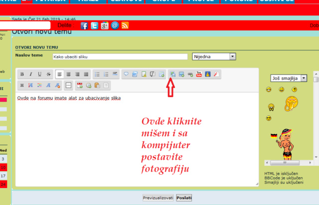 Uputstvo za korišćenje foruma Scree130