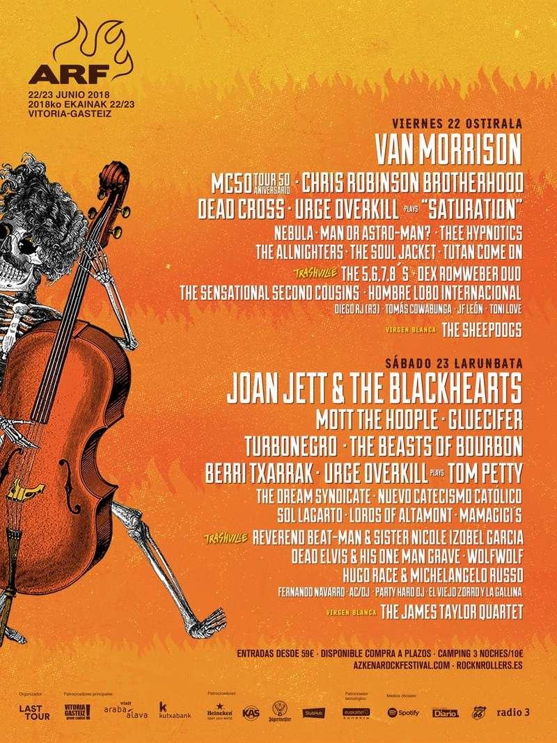 Agenda de giras, conciertos y festivales Arf18_10