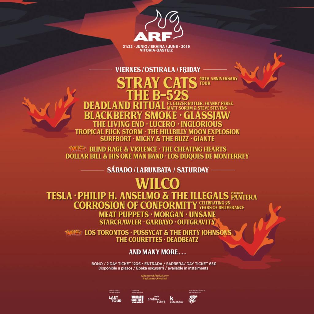 Agenda de giras, conciertos y festivales Arf19_10