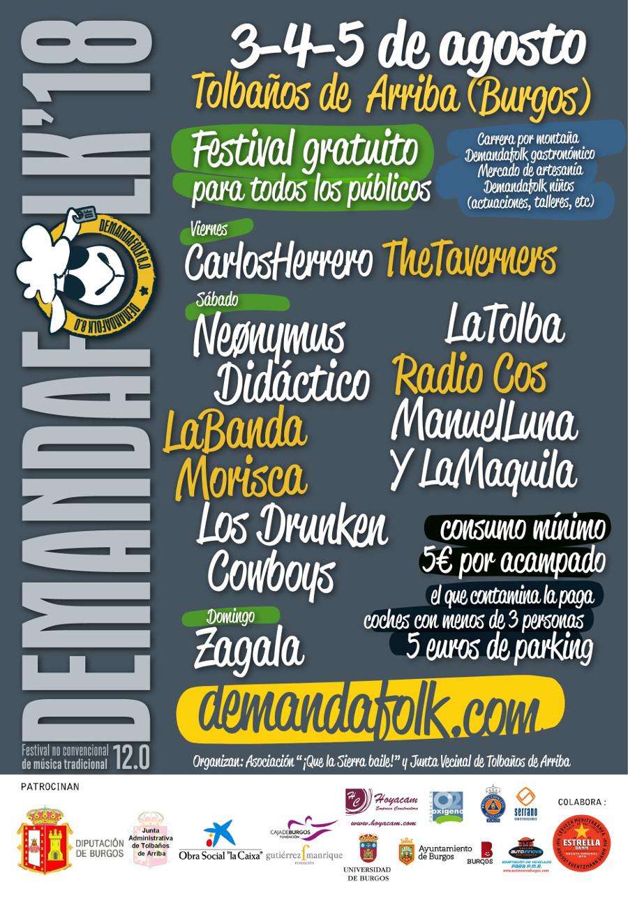 Agenda de giras, conciertos y festivales Cartel12