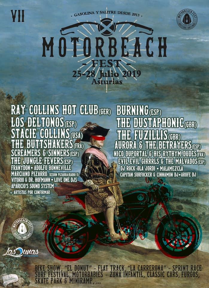 Agenda de giras, conciertos y festivales Motor110