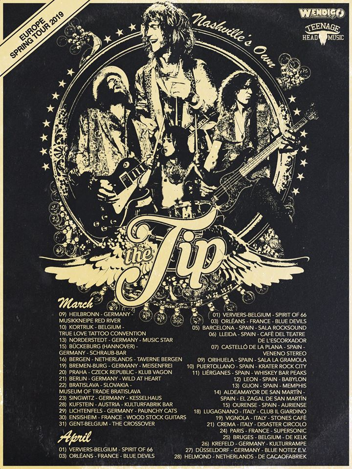 Agenda de giras, conciertos y festivales Tt1010
