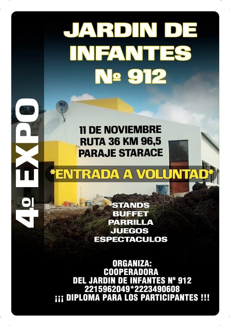"""DOMINGO 9 DE DICIEMBRE, 4° EXPO DEL JARDIN DE INFANTES 912"" 42800810"