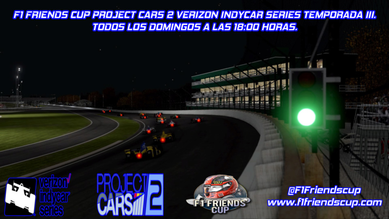 | PC2 INDYCAR T.III | INSCRIPCIONES PARA LA TEMPORADA 2310