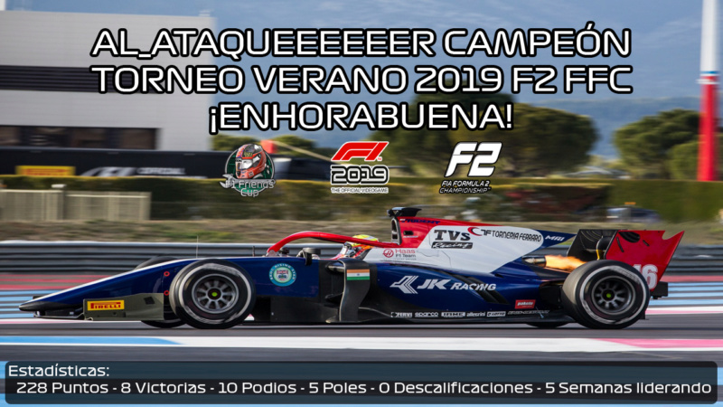 | TORNEO VERANO 2019 | Al_Ataqueeeeeer campeón Torneo Verano 2019 F2 Al10