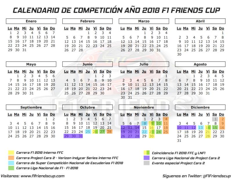 | FORO | Calendario de Competición de FFC 2018-19 Calend18