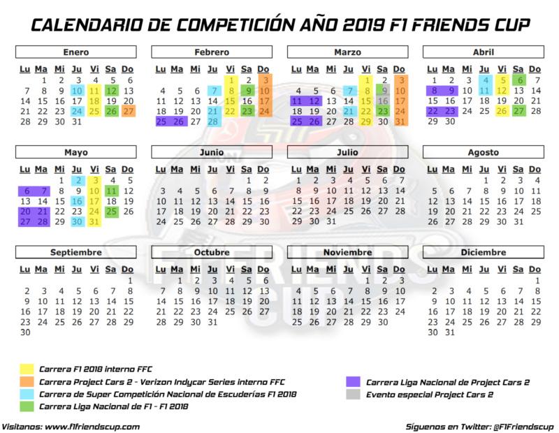 | FORO | Calendario de Competición de FFC 2018-19 Calend24
