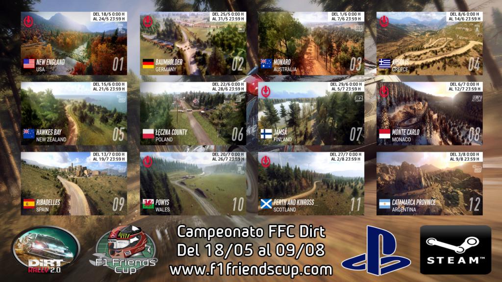 | DIRT T.III | CALENDARIO TEMPORADA 3 Calend26