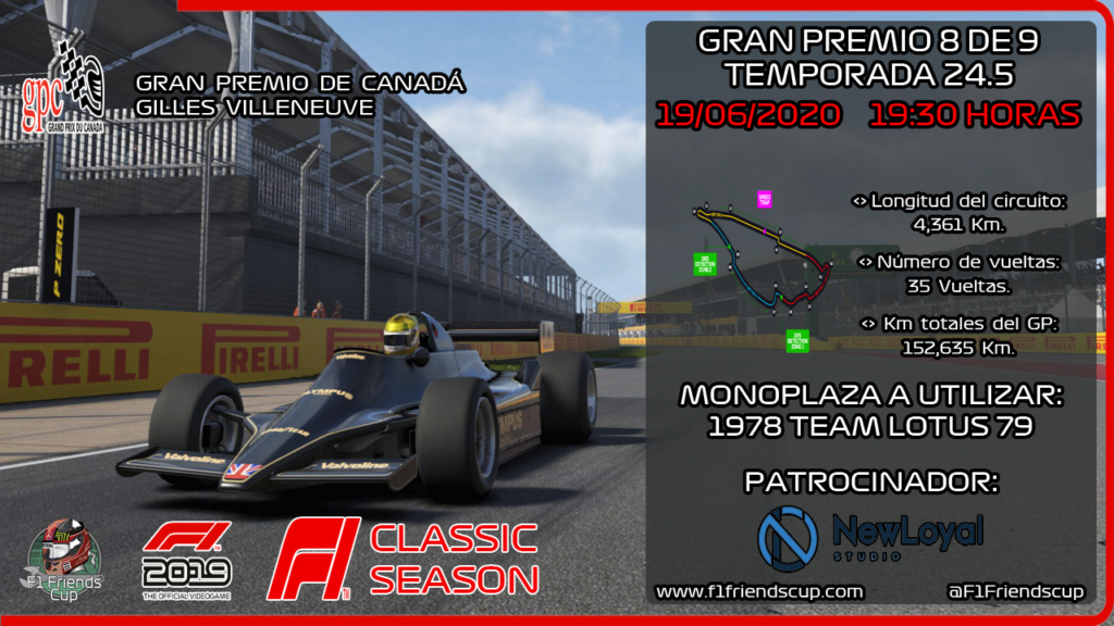 [RESULTADOS F1 2019 T.24,5 C: 8/9] GILLES VILLENEUVE, GP CANADÁ Canadz10