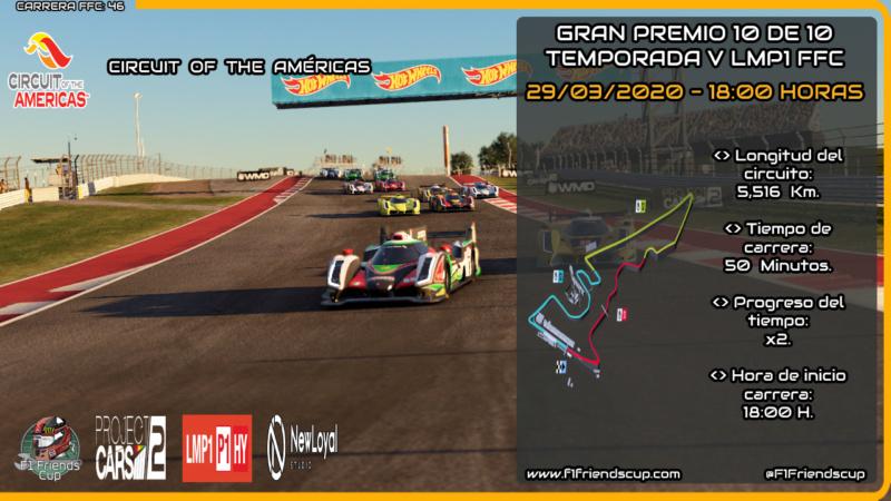| PC2 T.V LMP1 | Sanciones Circuito de Las Américas Cotapc10