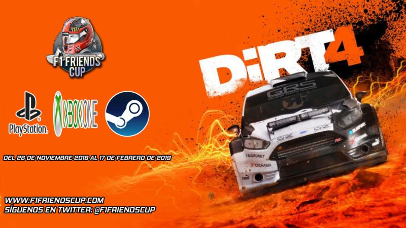 | DIRT 4 | Presentación del proyecto e inscripciones Dirt411