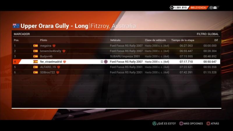 | DIRT 4 RALLY 4 DE 10 | FITZROY, AUSTRALIA | GRUPO UP TO 2000CC (4WD) Dirt_423