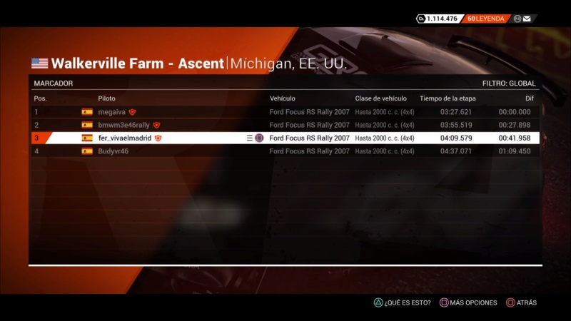 | DIRT 4 RALLY 9 DE 10 | MICHIGAN, ESTADOS UNIDOS | FORD FOCUS RS RALLY 2007 Dirt_463