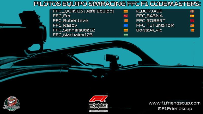 | FFC TEAM | Estructura del equipo, pilotos integrantes, palmarés y competiciones Equipo11
