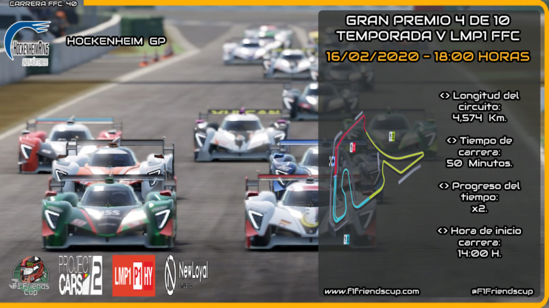 | PC2 T.V LMP1 | Sanciones Hockenheim GP Hocken11