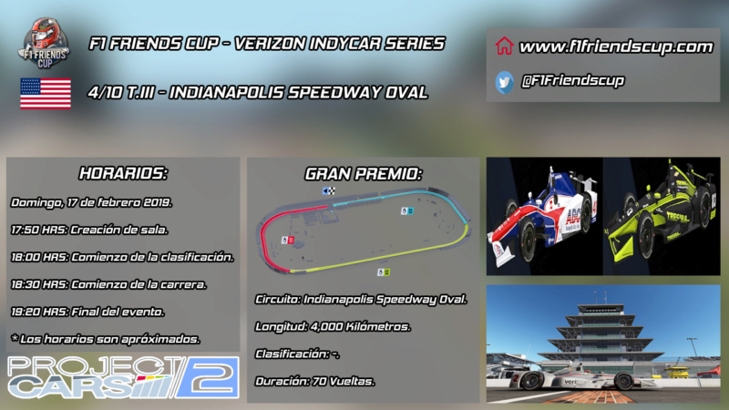 [4/10 T.III PC2 INDYCAR] INDIANAPOLIS MOTOR SPEEDWAY OVAL Indian12