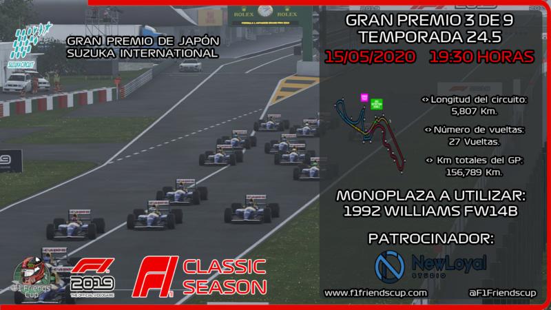 [RESULTADOS F1 2019 T.24,5 C: 3/9] SUZUKA INTERNATIONAL, GP JAPÓN Japznc10