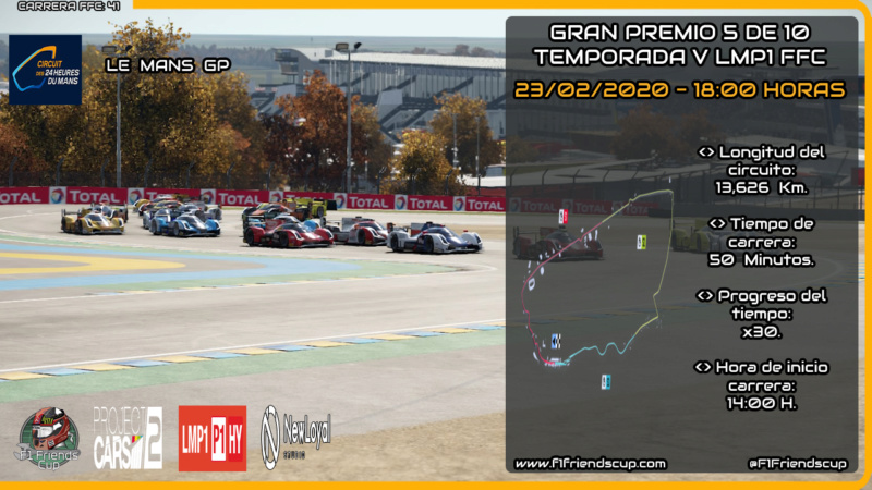 | PC2 T.V LMP1 | Sanciones Le Mans GP Lemans11