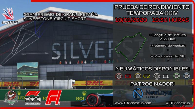 | F1 19 T.XXIV | Resultados Prueba de Rendimiento Temporada 24 Miniat20
