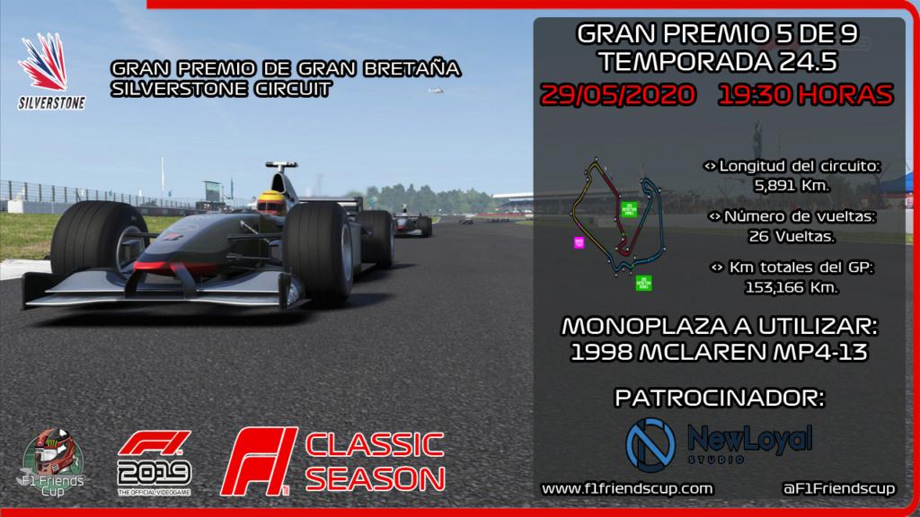 [RESULTADOS F1 2019 T.24,5 C: 5/9] SILVERSTONE CIRCUIT, GP GRAN BRETAÑA Miniat35