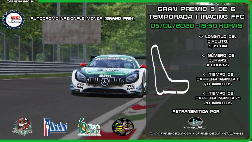   IRACING T.I   Sanciones Autodromo Monza Monza11