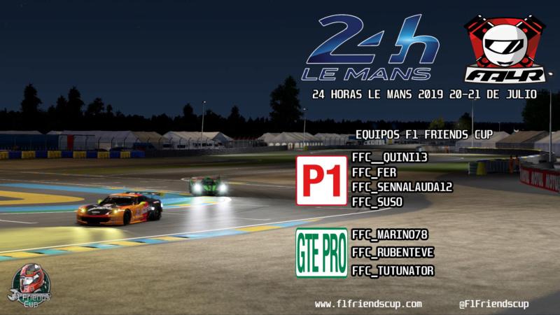 | 24 HORAS LE MANS FA4RACERS | ¡Este sábado corremos las 24 Horas Le Mans por segundo año consecutivo! Piloto14