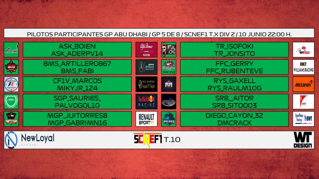 | SCNEF1 | Asombik Esports consgue el segundo doblete en siete días y ya mira al título Piloto22
