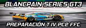 | PC2 BLANCPAIN SERIES GT3 T.IV | ANUNCIA TU EQUIPO Prepar10