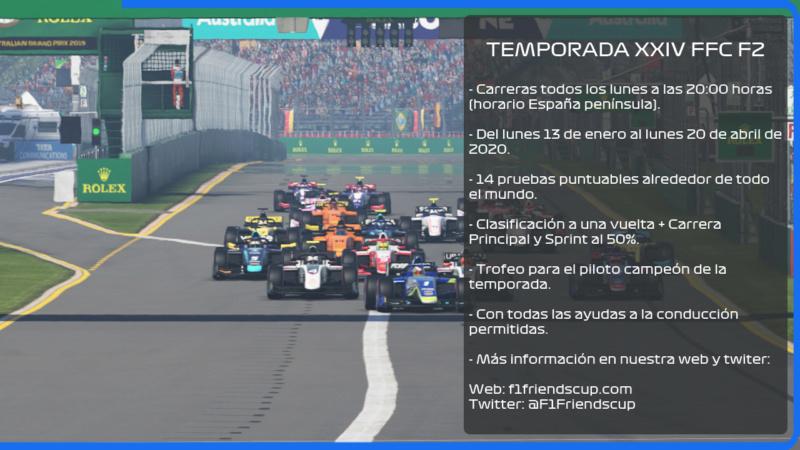| F2 2019 T.XXIV | INFORMACIÓN, INSCRIPCIONES, FORMACIÓN DE EQUIPOS TEMPORADA XXIV Proxim11