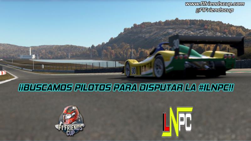 | ILNPC T.II | Buscamos pilotos para disputar la competición Public10