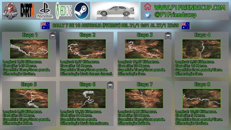 | DIRT 4 RALLY 7 DE 10 | FITZROY, AUSTRALIA | MITSUBISHI LANCER EVOLUTION VI Rallya10