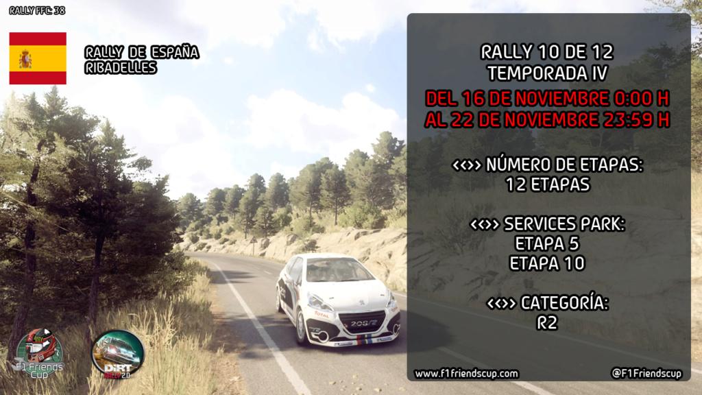 [RESULTADOS DIRT 2.0 T.IV 10/12] RIBADELLES, ESPAÑA Rallye10