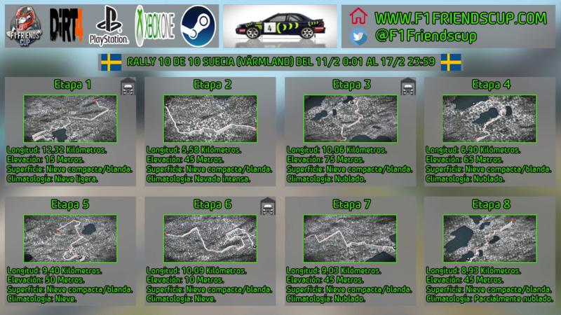 | DIRT 4 RALLY 10 DE 10 | VÄRMLAND, SUECIA | SUBARU IMPREZA 1995 Rallys10