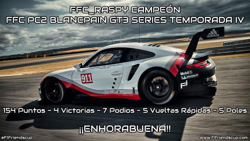 | PC2 BLANCPAIN GT3 SERIES T.IV | ¡FFC_Raspy se corona campeón en el Infierno Verde! Raspy10