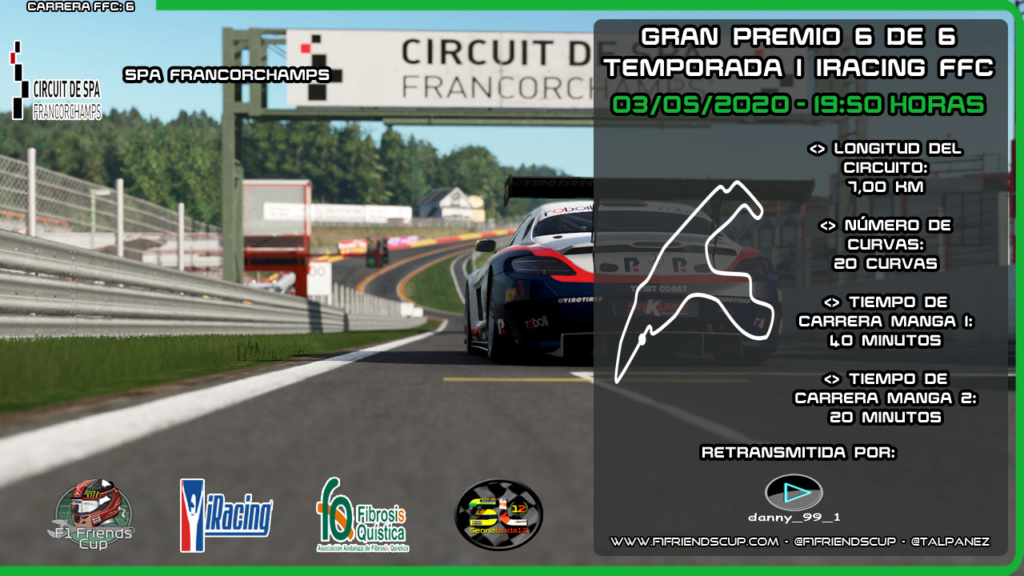 | IRACING T.I | Sanciones Spa-Francorchamps Spafra11
