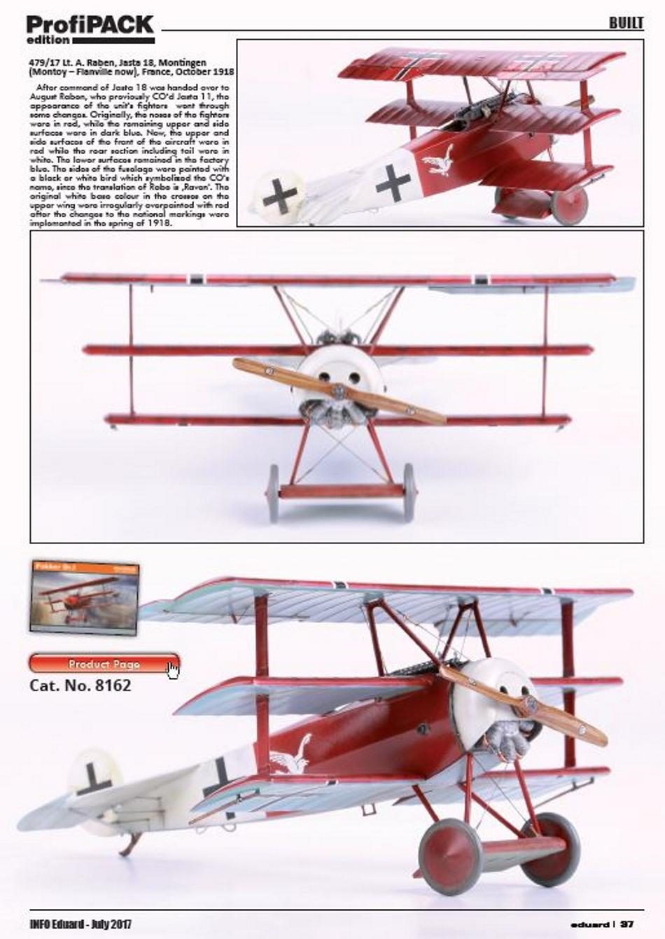 FOKKER Dr.I Fokker54
