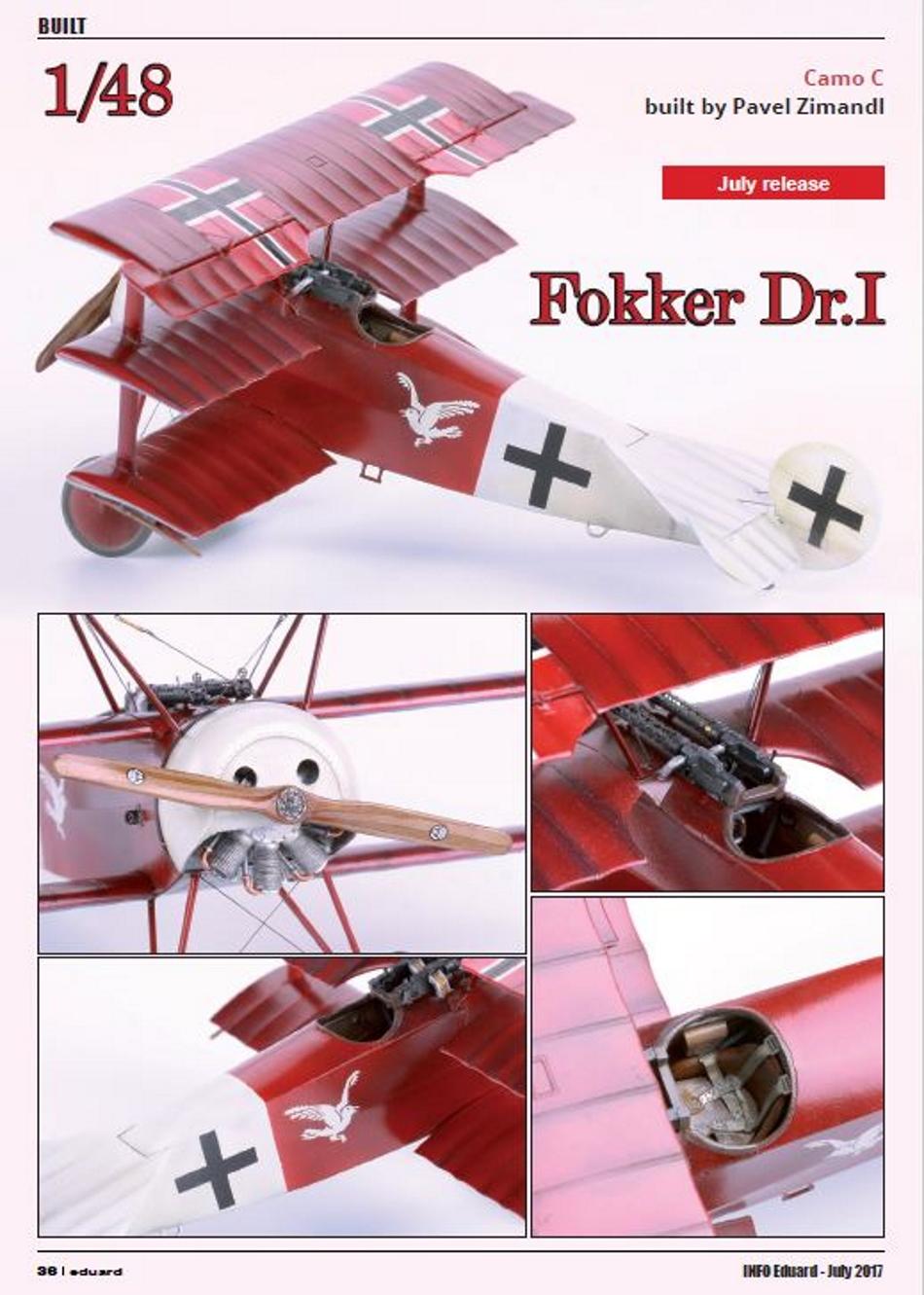 FOKKER Dr.I Fokker55