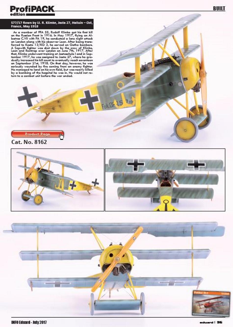 FOKKER Dr.I Fokker58