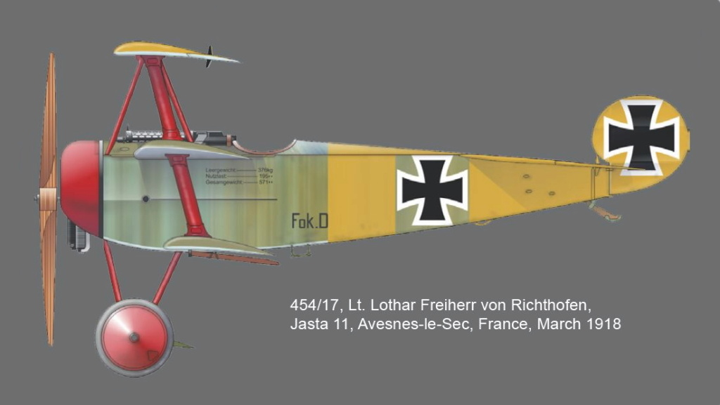 FOKKER Dr.I Fokker62