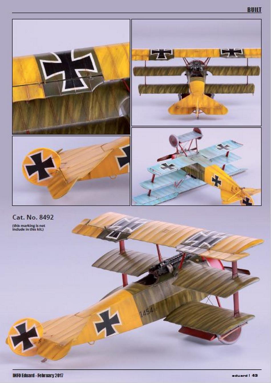 FOKKER Dr.I Fokker63