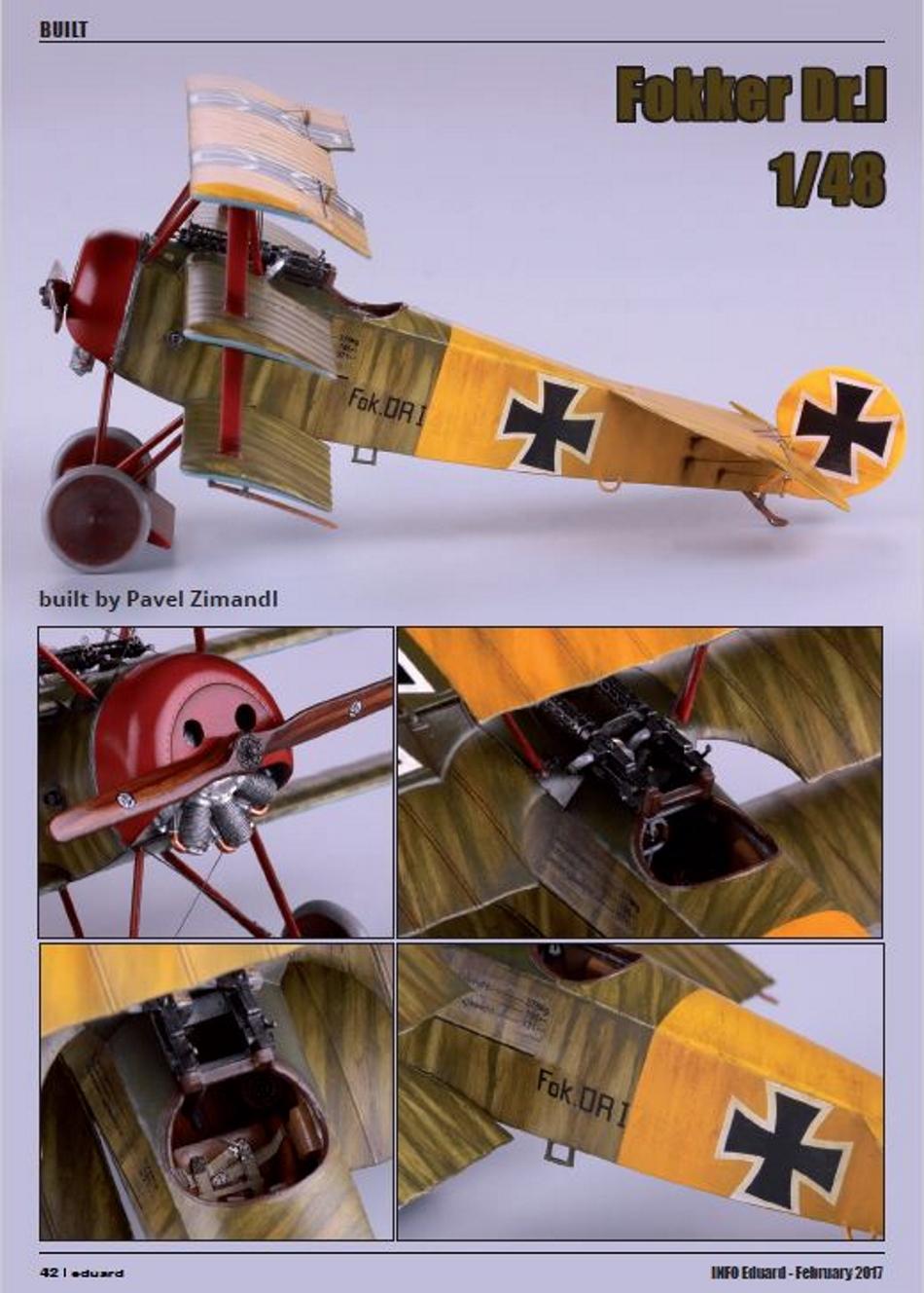 FOKKER Dr.I Fokker64