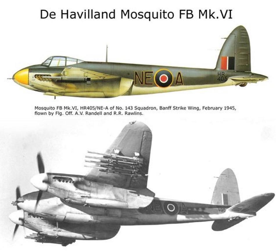 DE HAVILAND MOSQUITO DH 98 Mosqui24
